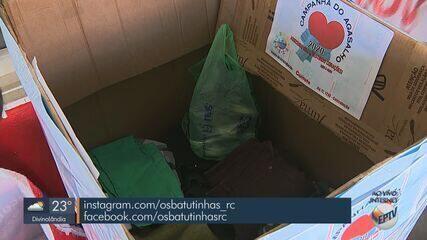 Grupo de voluntários de Rio Claro arrecada agasalhos para pessoas em situação de rua
