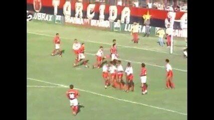 Flamengo vence o Kaburé por 8 a 0 em 1995; veja