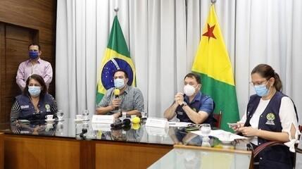 Leitos de UTI atingem limite em Rio Branco