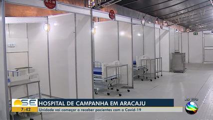 Saiba mais sobre o funcionamento do Hospital de Campanha de Aracaju