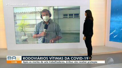 Salvador registra a sétima morte de rodoviário por Covid-19