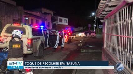 Prefeitura de Itabuna, no sul da BA, prorroga toque de recolher ...