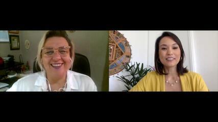 Cris Ikeda conversa com psicóloga sobre como enfrentar a solidão