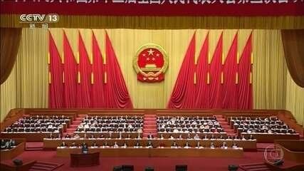 Partido comunista chinês aprova projeto de lei para reprimir protestos em Hong Kong