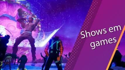 Semana Pop: Com games online, artistas fazem apresentações para driblar o isolamento