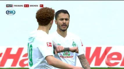 O gol de Freiburg 0 x 1 Werder Bremen pelo Campeonato Alemão