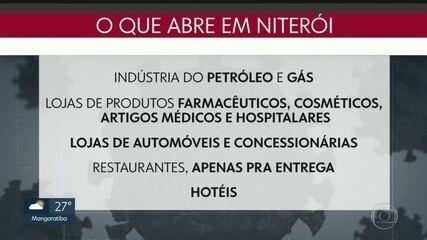 Salões de beleza e hotéis estão entre as atividades que podem reabrir em Niterói