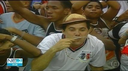 Globo reprisa Santa Cruz x Portuguesa, pela Série B de 2005, no domingo