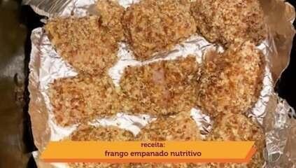'Momento Mais Diário': frango empanado nutritivo