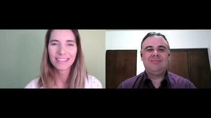 Bate-Papo Globo Esporte: conversam sobre a volta dos treinos