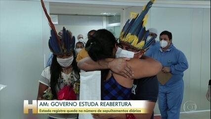 Coronavírus: Hospital de campanha de Manaus inaugura ala exclusiva para população indígena