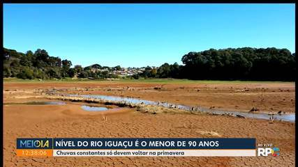 Estiagem no Paraná: Rodízio no abastecimento de água deve durar até setembro, diz Sanepar