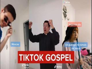 Veja vídeos que brincam com temas religiosos no TikTok