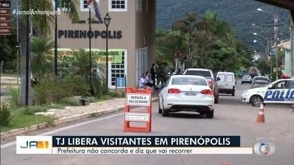 TJ libera visitantes em Pirenópolis
