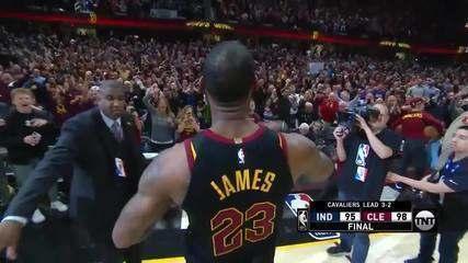 LeBron James - Toco e adaga da redenção em 2018