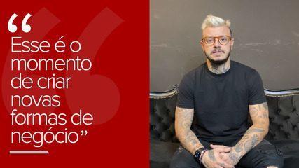 """""""Esse é o momento de criar novas formas de negócio, diz o empresário Bruno Bernardo"""