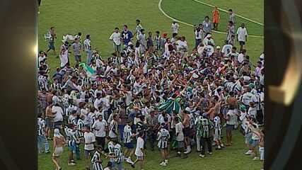 América-MG 1x0 Vila Nova - 07/12/1997 - Série B