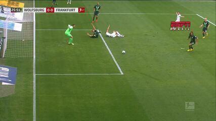 Os gols de Wolfsburg 1 x 2 Eintracht Frankfurt pelo Campeonato Alemão