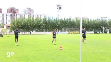 Ceará volta aos treinos com elenco reduzido e medidas rígidas de segurança