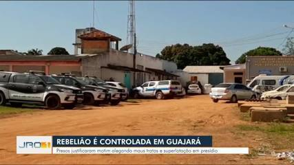 Rebelião no presídio de Guajará-Mirim
