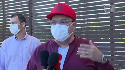 Governador Ibaneis Rocha comenta retomada do comércio e volta às aulas no DF