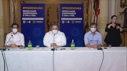 Governo de Pernambuco projeta volta aos treinos para 15 de junho