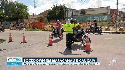 Cidades da região metropolitana em lockdown fazem barreiras de fiscalização