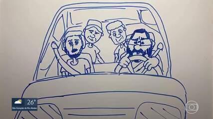 Traços da minha quarentena: Enderson Moreira narra viagem de carro para assumir o Cruzeiro