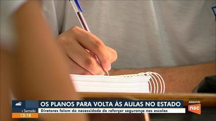 Municípios de SC estudam plano de retomada na área de educação