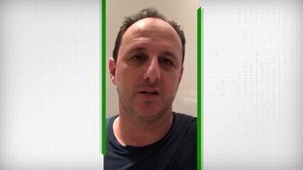Ceni e jogadores do Fortaleza enviam mensagens para profissionais de saúde