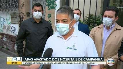 Secretário de Saúde comenta retirada do Iabas dos hospitais de campanha com exclusividade