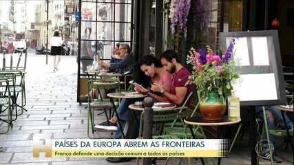 Países da Europa começam a reabrir fronteiras para estrangeiros