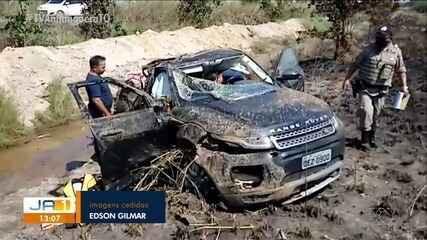 Acidente na região central do Tocantins deixa um morto e três feridos