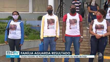 Corpo que pode ser o de Arlete Santos é exumado nesta quarta-feira