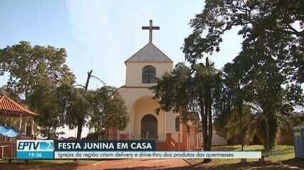 Igrejas da região de Ribeirão criam delivery e drive thru dos produtos das quermesses