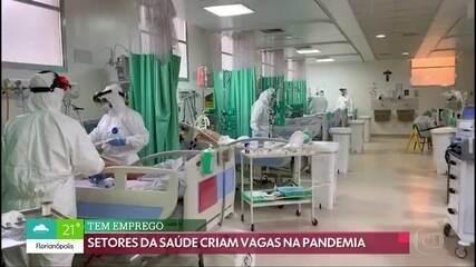 Área da saúde oferece novas oportunidades de emprego