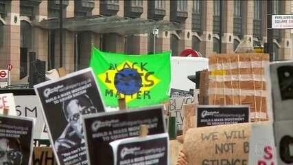 Manifestações antirracismo se espalham pelo mundo neste sábado (6)