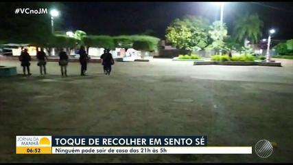 Toque de recolher é decretado no município de Sento-Sé, no norte da Bahia