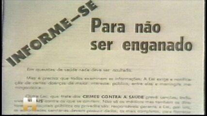 Epidemia de meningite nos anos 1970 também sofreu com falta de dados no Brasil