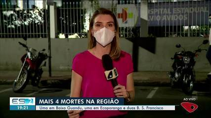 Noroeste do ES registra mais mortes por Covid-19