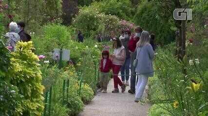 Jardins de Monet, na França, são reabertos ao público