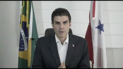Helder Barbalho é mais um governador alvo da PF, após falas de Zambelli e Bolsonaro