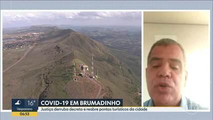 Justiça suspende decreto de Brumadinho
