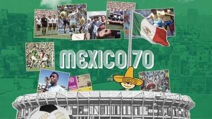 Fifa inicia campanha de celebração dos 50 anos da Copa de 1970