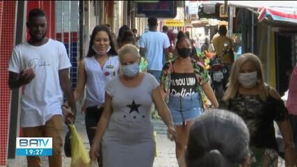 Índice de isolamento em Feira de Santana está muito abaixo da média do estado