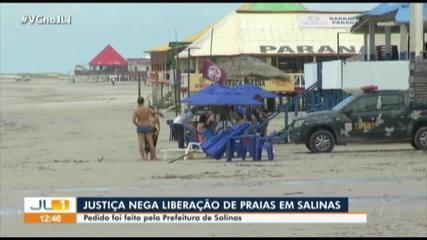 Justiça nega liberação de praias em Salinópolis durante feriado de Corpus Christi
