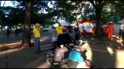 PM usa spray de pimenta contra integrantes de acampamento na Esplanada