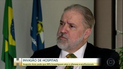 PGR pede que MPs locais apurem denúncias de invasão a hospitais e ofensas a equipes