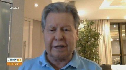 Prefeito de Manaus fala sobre encerramento de atividades do hospital de campanha