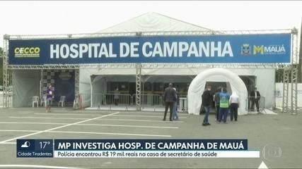 Ministério Público investiga hospital de campanha de Mauá